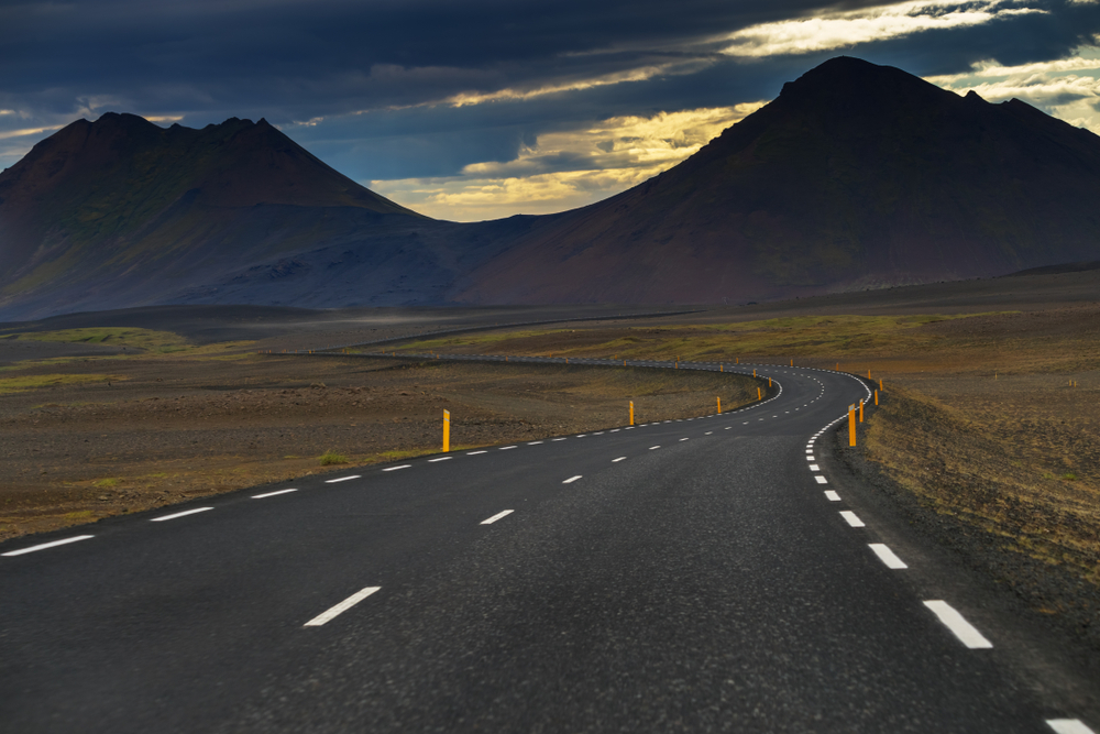 Iceland car rental along the Ring Road