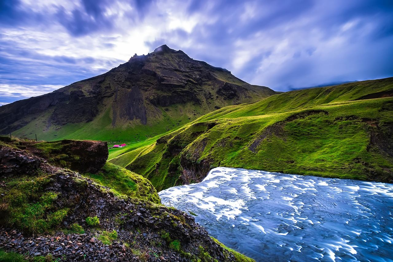 Beautiful landscape in Iceland